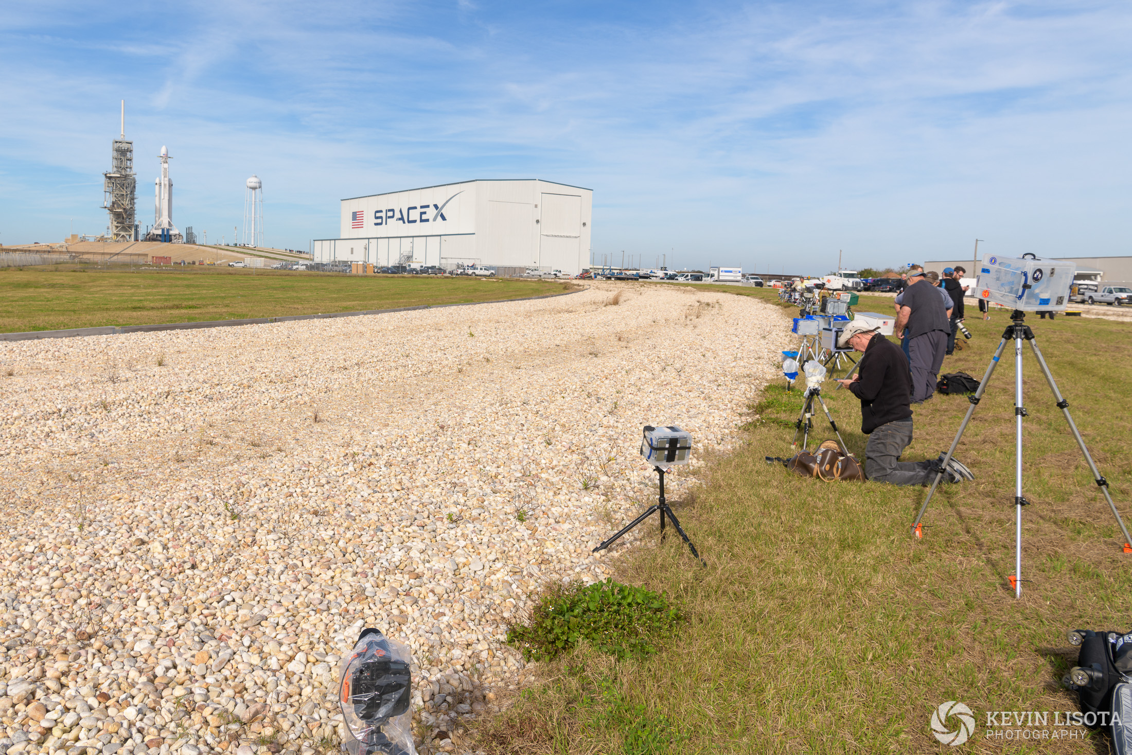 Camera location #2 ~2300 ft away from launchpad