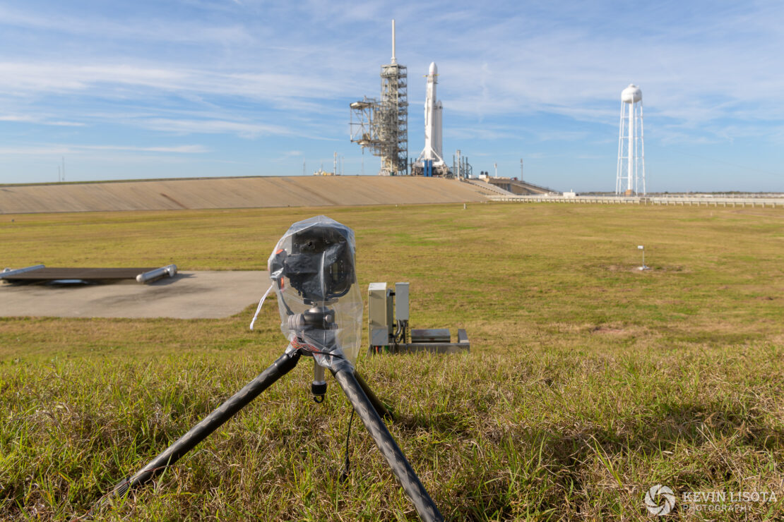 Camera location #3 ~1200 ft away from launchpad