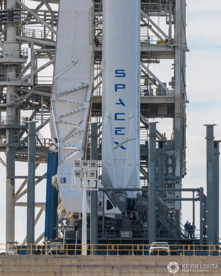 SpaceX Falcon Heavy Launch T-1 Day