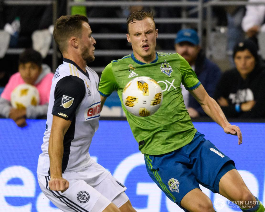 Seattle Sounders FC vs Philadelphia Union - September 19, 2018