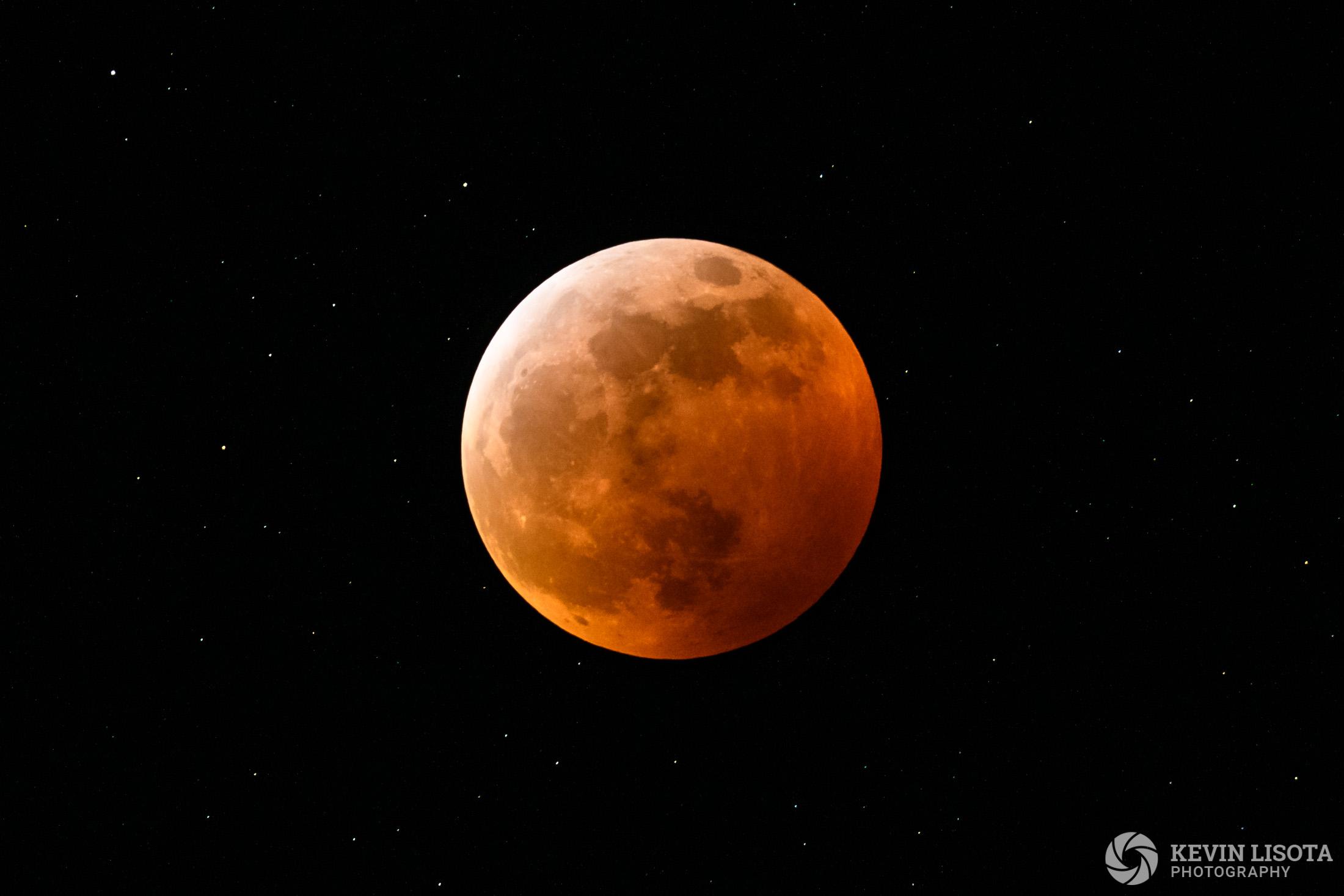 Lunar Eclipse - January 20, 2019