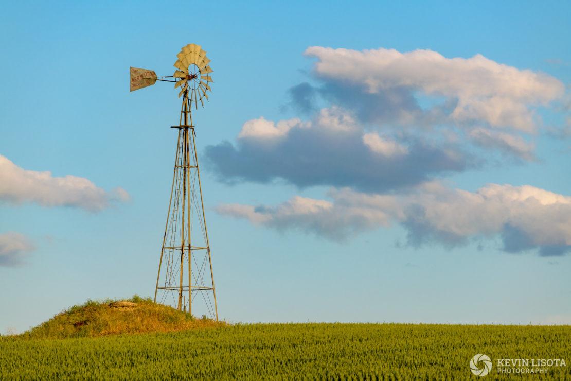 Aermotor windmill in the Palouse