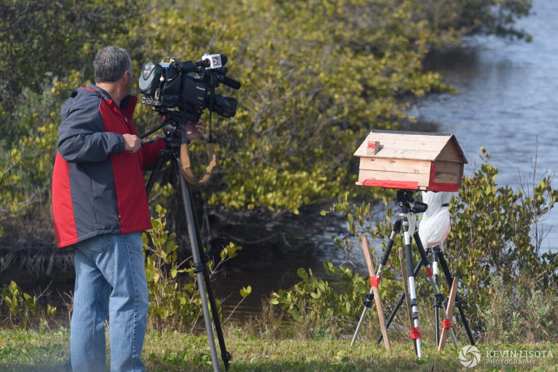 Photographers prepare for Falcon Heavy maiden launch