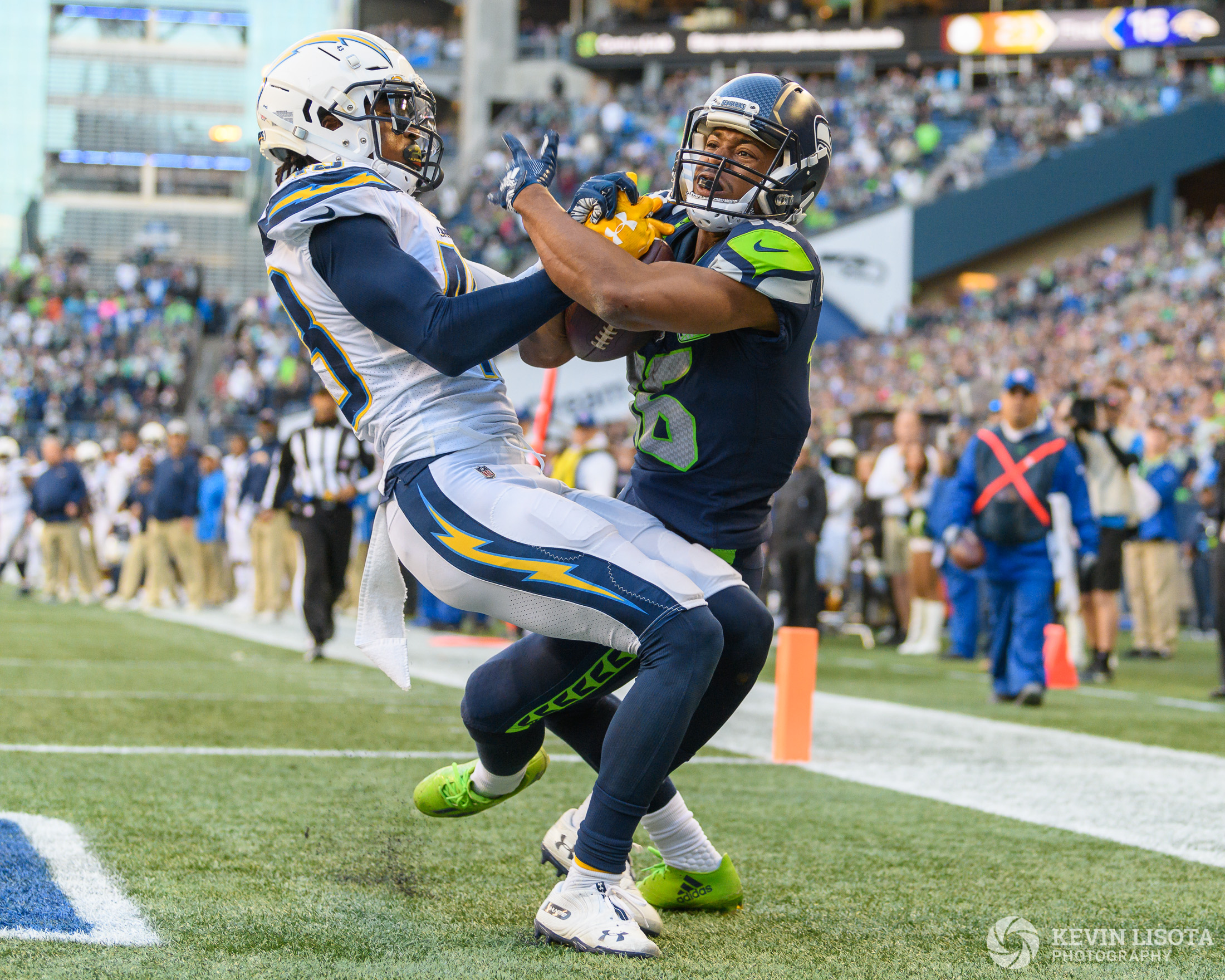 Seattle Sehawks vs. Los Angeles Chargers - November 4, 2018