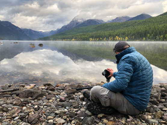 Bowman Lake at Glacier National Park